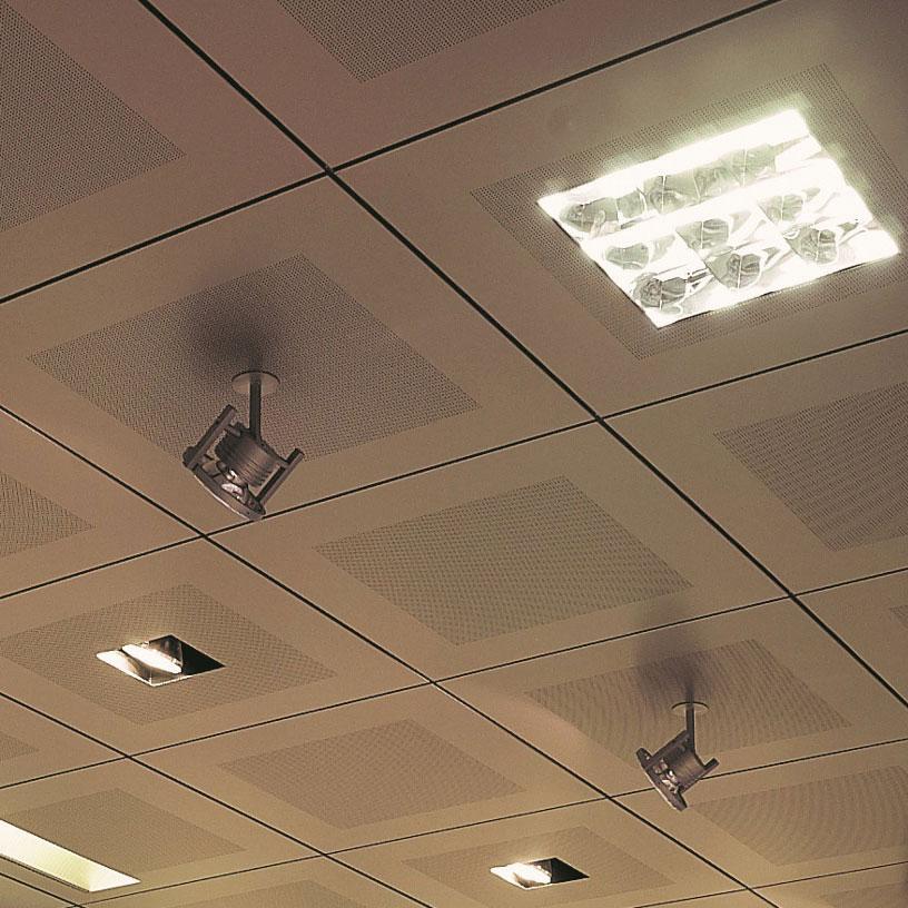 Подвесные потолки в Киеве, Потолок клеточно-растровый, потолок для офиса